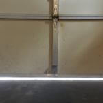 Gap under garage door